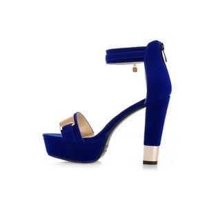 Image 5 - Signore di estate sapatos mulher schoenen vrouw tacchi alti chaussure femme zapatos mujer scarpe da donna sandalias femme T865