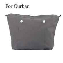 New Waterproof Inner Lining Insert Zipper Pocket for Obag Urban for O Bag Urban mini Women bag