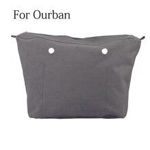 جديد مقاوم للماء بطانة الداخلية إدراج سستة جيب ل Obag الحضرية ل O حقيبة الحضرية حقيبة صغيرة للنساء