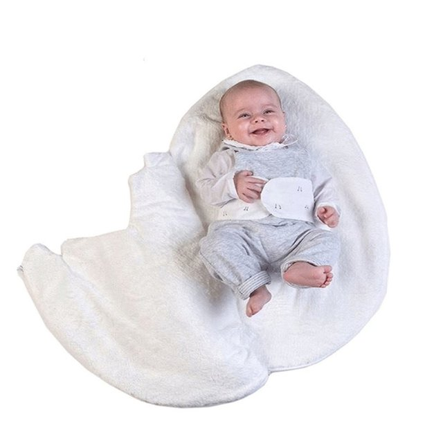 Newborn Baby Girls Boys Cartoon Cotton Sleeping Bags Winter Warm Strollers Bed Swaddle Blanket Infant Outside Sleeping Bags