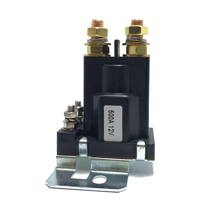 Двойной аккумулятор изолятор реле на начало/ВЫКЛ 4 Pin 500A 24 В для автомобиля выключатель питания