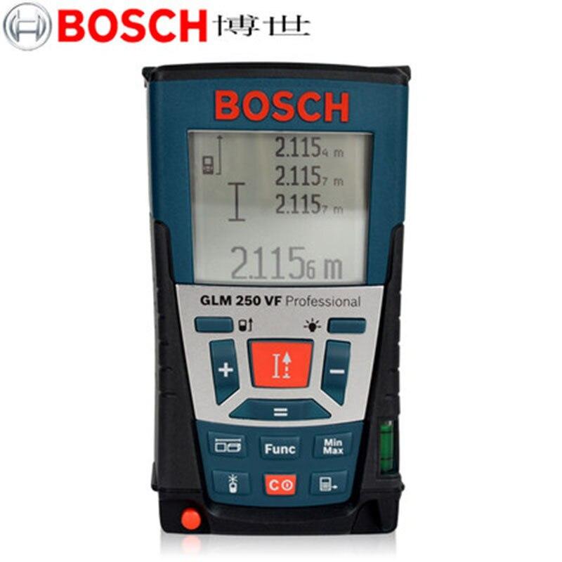 BOSCH GLM250VF  250 Metre Laser Ruler  Dust-proof And Waterproof Measuring Instrument  Handheld Infrared Laser Range Finder