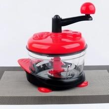 Video 1.5L High-capacity Multi-function Kitchen Manual Food Processor Meat Grinder Vegetable Chopper Shredder Cutter Egg Blender
