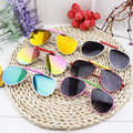 2016 Nova Moda Crianças Crianças Óculos De Sol 100% Proteção UV Óculos de Sol Do Bebê Menina Meninos espelho óculos de sol luneta de soleil 1064