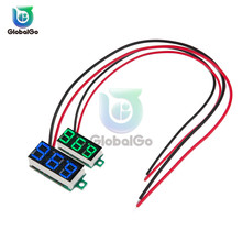 цена на 0.36 Inch 2-wire Voltmeter DC 4-30V LED Mini Digital Voltmeter LED Display Volt Meter Gauge Voltage Panel Meter Green White Red
