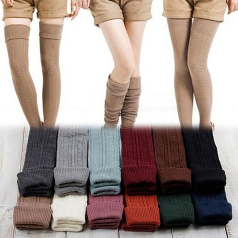 e65a69f2a9 Lovely Feminino Sexy Over Knee Sock New Fashion Rain Boot Cuff Socks Long  Thigh High Socks