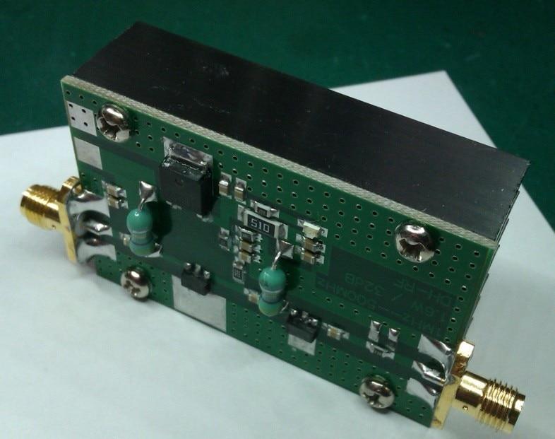 Heatsink 1MHz--500MHZ 1.5W HF FM VHF UHF RF Power Amplifier for ham radio