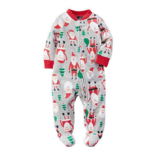 Newborn Infant Baby Girls Boys Romper Jumpsuit Outfit Christmas Clothes baby clothing summer infant newborn baby romper short sleeve girl boys jumpsuit new born baby clothes