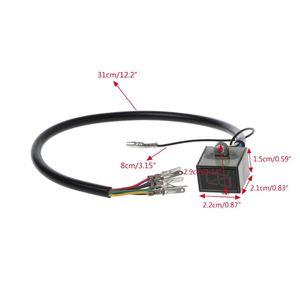 Image 5 - 新しいオートバイギアインジケータ 5 高速デジタルディスプレイオフロードモトクロスライト一般的なアプリケーション中立モータースペアパーツ qyh