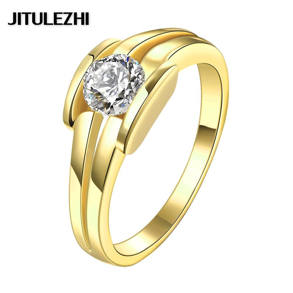 Luxurious Rings Jewelry  Personality Wedding Rings(