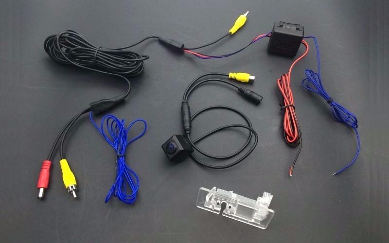For Opel Corsa Meriva Tigra Vectra Zafira Astra Smart Tracks Chip Camera HD CCD Intelligent Dynamic Rear View Camera (3)