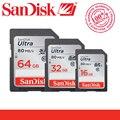 100% Подлинная SanDisk 16 ГБ 64 ГБ 32 ГБ C10 SD card Карта Памяти SDHC class 10 sd Камеры карты пройти Официальный Проверки