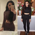 Women 2pcs Tracksuit Hoodies  Sweatshirt Pants Sets solid color Wear Casual Suit woman outfits