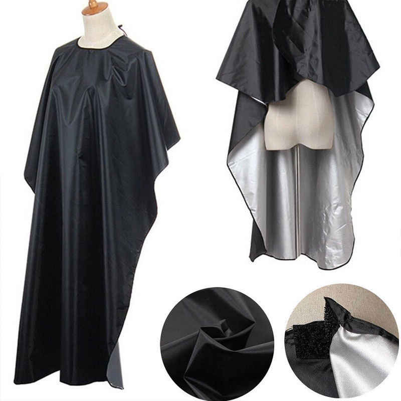 Pro Salon Barber Hairdressing Gown Styling Cutting Shampoo Pewarna Rambut Cape Kain