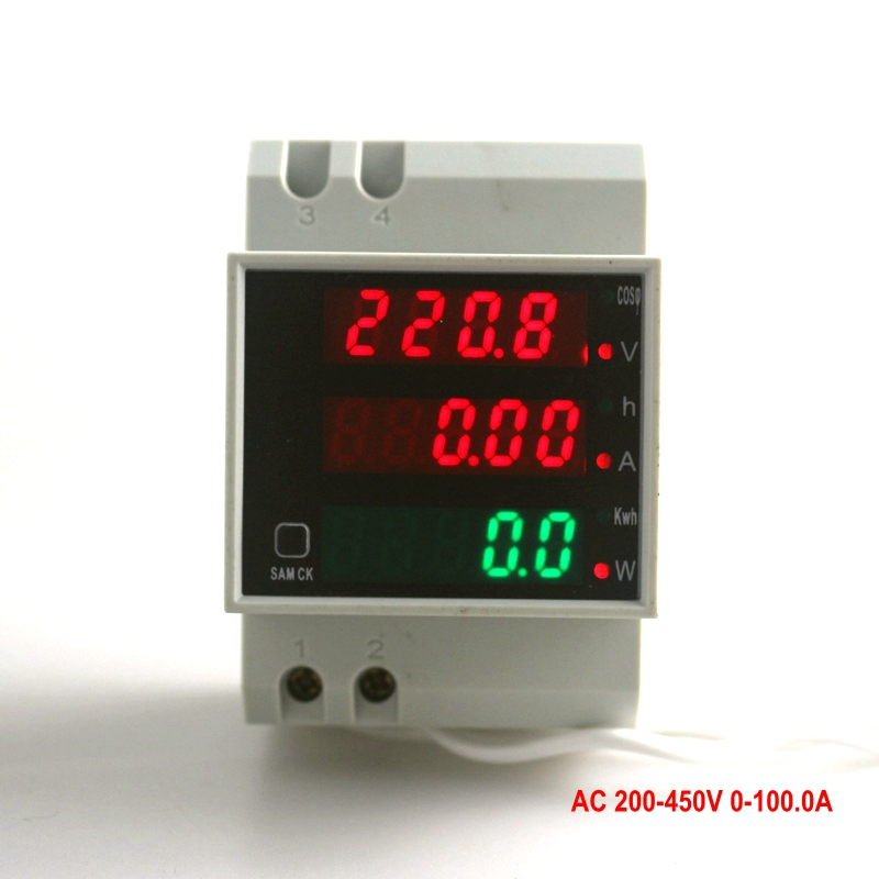 Digital Voltmeter Ammter Voltage Ampere Meter Working