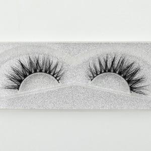 Image 5 - Visofreeขนตามิงค์3Dขนตายาวนานมิงค์ขนตาธรรมชาติละครปริมาณขนตาขยายขนตาปลอมD21