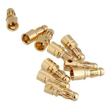 Motor RC Battery Banana Connector 10 Pairs For ESC Brushless 3.5mm Plug Diy Kit Gold 2018 Fashion High Quality цены