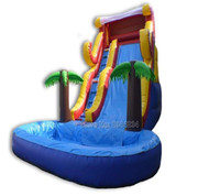 Outdoor giant inflatable water slide pool slide for adult
