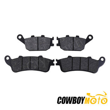 4pcs/set Motorcycle Accessories Front Rear Disc Brake Pads For Honda FORZA 250 2000 2001 2002 2003 2004 image