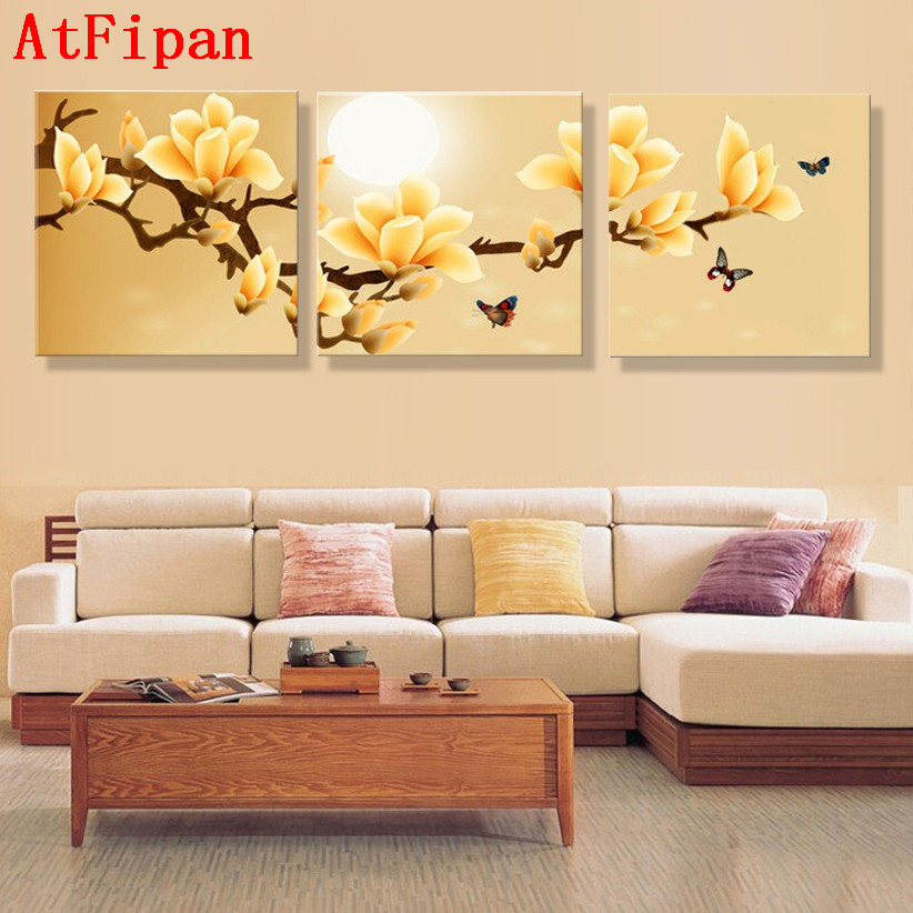 AtFipan poster canvas Wall Art orchids Decoration art oil
