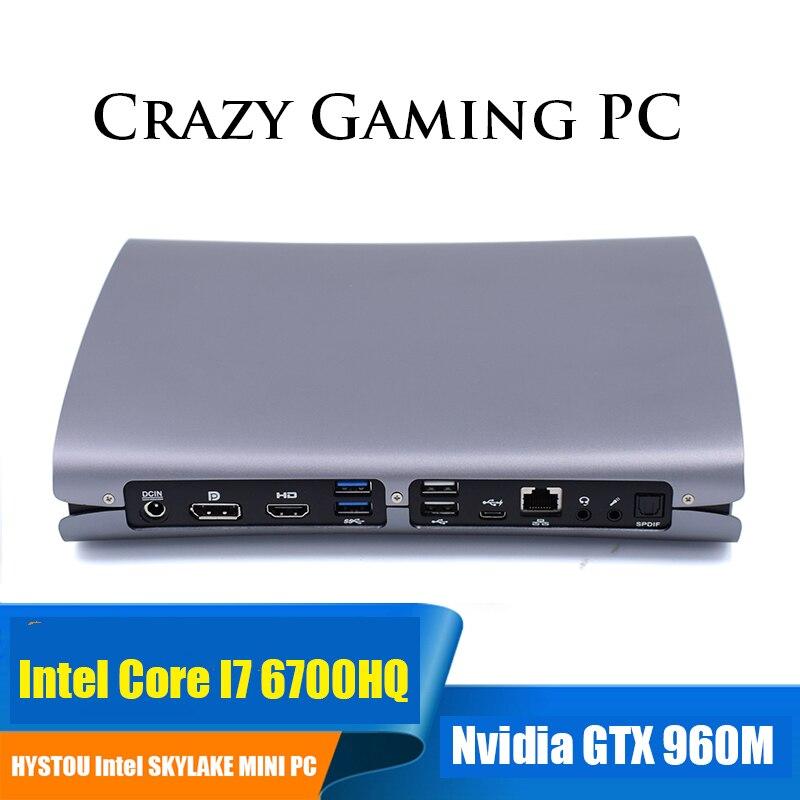 Dual Graphics Mini PC with Nvidia Geforce GTX 960M Intel Core i7 6700HQ WiFi&Bluetooth DDR4 RAM i5 6300HQ Gaming computer caterham 7 csr