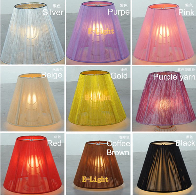 New mini lamp shade chandelier lamp covers colorful wall lampshade to crystal chandeliers lightpendant light lampblackwhitebeige mozeypictures Image collections