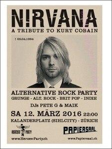 Image 4 - Vintage Áp Phích Kurt Cobain/Niết Bàn Frontman/Rock Vintage Poster/Retro Kraft Áp Phích Thanh Tranh Trang Trí/5065