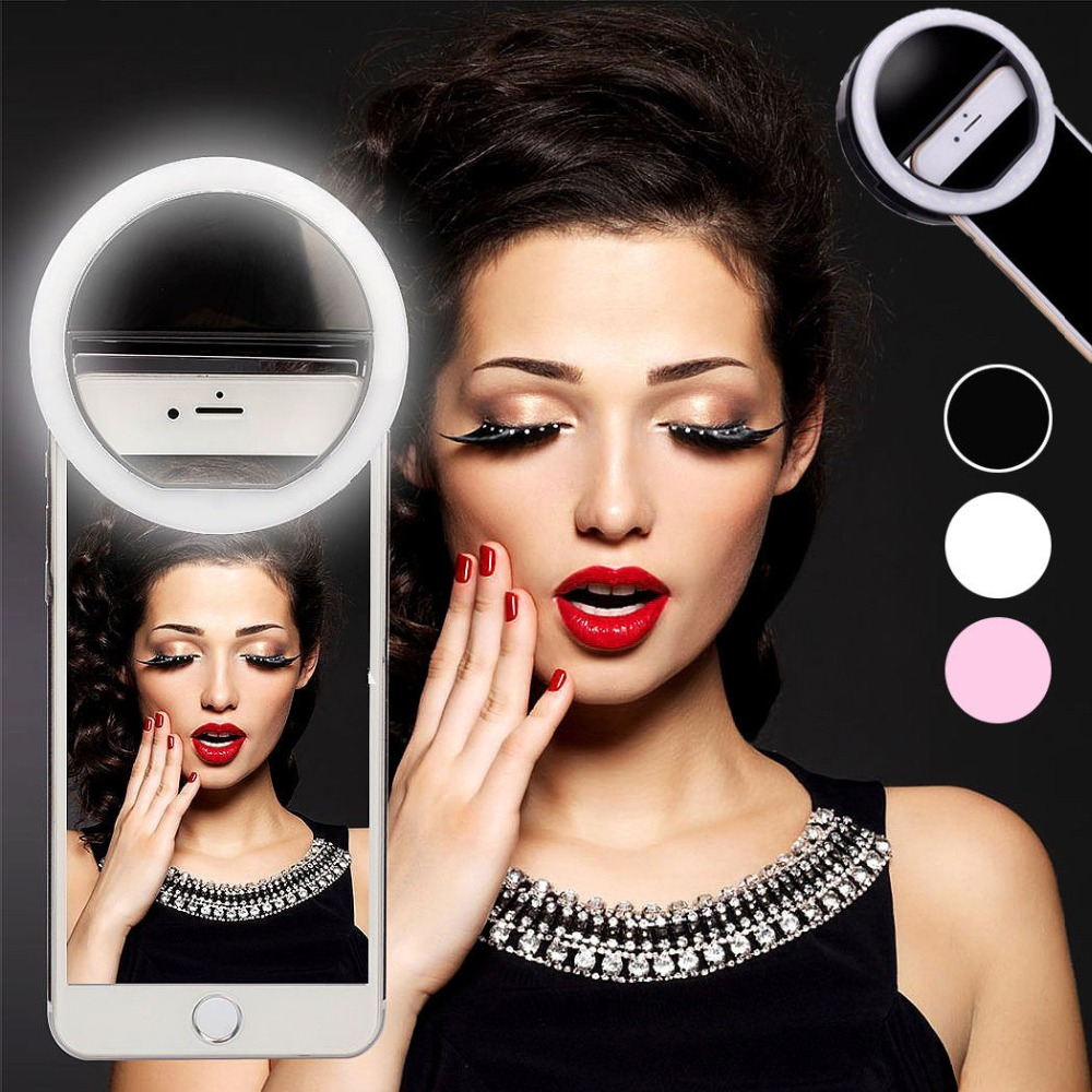 Rovtop-36-LED-Lamps-Selfie-Light-For-Iphone-Supplementary-Lighting-Night-Darkness-Selfie-Ring-Enhancing-For