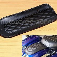 """Мотоцикл черный 14,2"""" кожа пламя заднее крыло Solo сиденье для Harley Touring 2008 2009 2010 2011 2012 2013"""