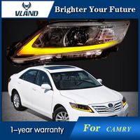 Front Headlights For Toyota Camry 2010 2011 Year North American Version LED Xenon HID Projection Headlights