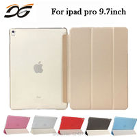 Colorful Ultra Slim Magnetic Front Smart Case Skin And Back Hard PC Cover Linked Stand Foilio