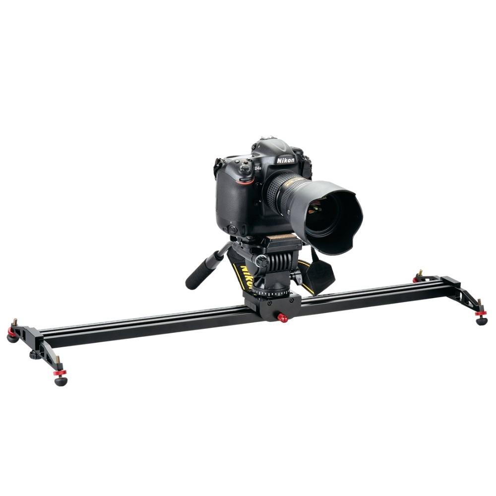 DIGIPOD Camera Dolly Track Slider Stabilizer System for DSLR Camcorders 24/600mm CS-600X ye 5d2 super mute 3 wheel truck dolly slider skater for dslr camera black