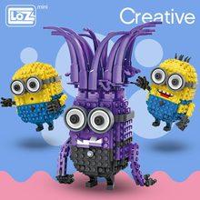 LOZ ミニブロックアニメ漫画のキャラクターのレンガ教育玩具子供のための悪魔のビルディングブロックのおもちゃ子供の教育