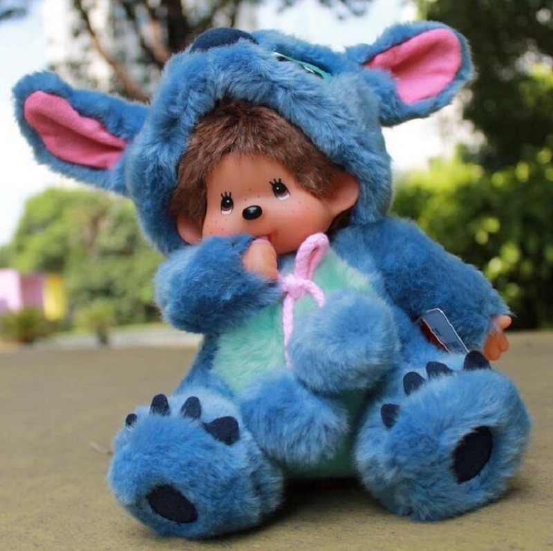 12 Styles Scrump Stitch Lilo Plush Toy Lilo and Stitch Stich Plush Toy Monchhichi Scrump Soft Stuffed Animals Dolls Kid Toy Gift цены онлайн
