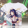 Amor vivo T-shirt de Anime lovelive Kousaka Honoka Cosplay camiseta moda hombre mujer remata camisetas