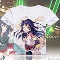 Love Live T-shirt Anime lovelive Kousaka Honoka Cosplay T shirt Fashion Men Women Tops Tees