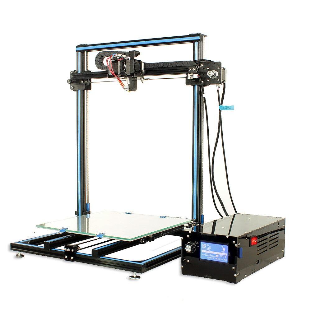 3D Imprimante size310 * 310*400mm Amélioré Cmagnet Plaque de Construction Cv Panne De Courant Impression kit de bricolage Puissance