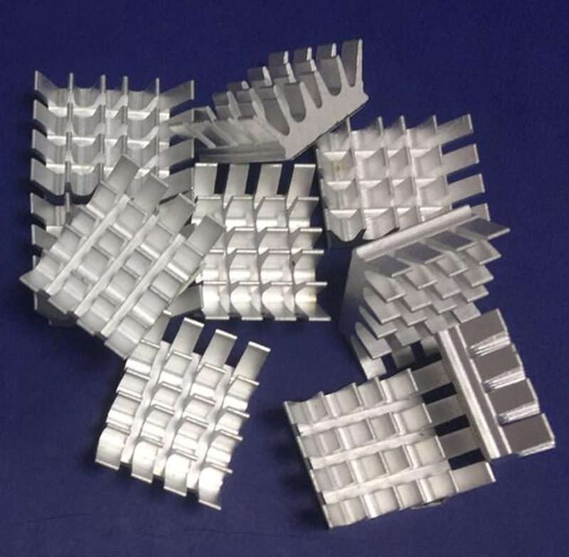 10pcs Aluminium Heatsink Computer Cooler Radiator Heat Sink  For Motherboard DDR VGA RAM Memory IC Chipset Cooler