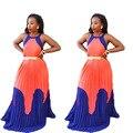 Африка Базен Riche Африканские Платья Для Женщин Одежда Новое Прибытие Срок годности Полиэстер 2016 Мода Сексуальная Одежда