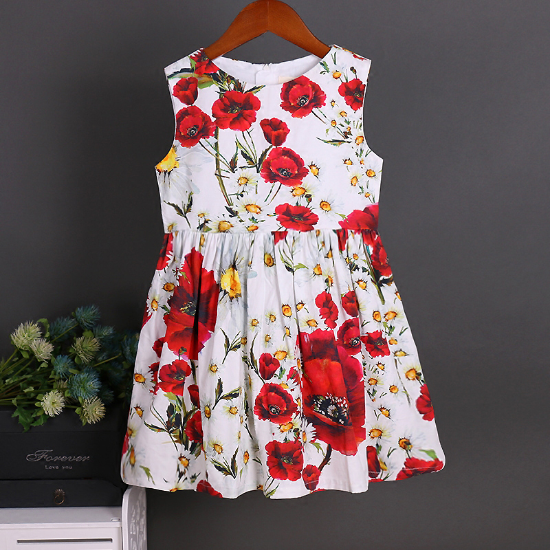 children clothes women kids girls family matching clothing family look outfits mother daughter dresses 100% Cotton Summer dress summer children clothing family clothes kids infant girls women opulent rose print dress matching mother daughter fashion dress
