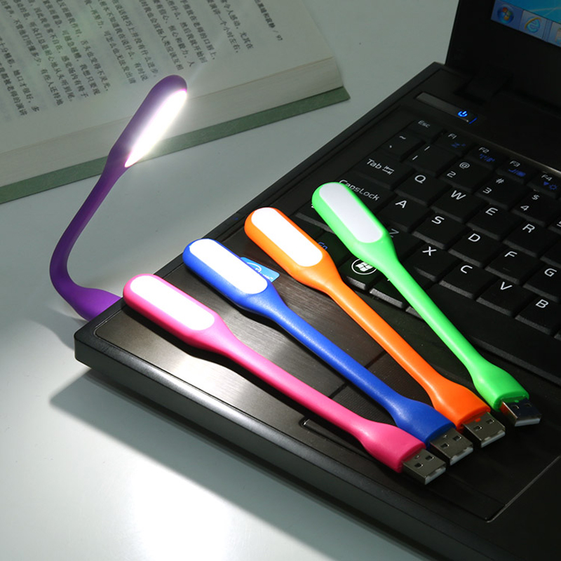 US $14 42  10pcs/lot Candy Color Mini USB Light LED Book Lamp For Reading  Novelty Tablet LED Kindle Ebook Reader Mobile Power Night Light-in LED  Night