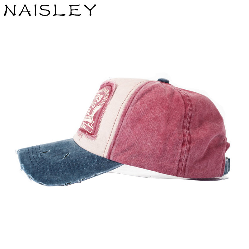 144104c33d5 NAISLEY Casual Spring Summer Baseball Cap Snapback Hat Sunshade Caps Cotton  Truck Hats Curved Brim Hat Truck Drive Sport Cap New-in Baseball Caps from  ...