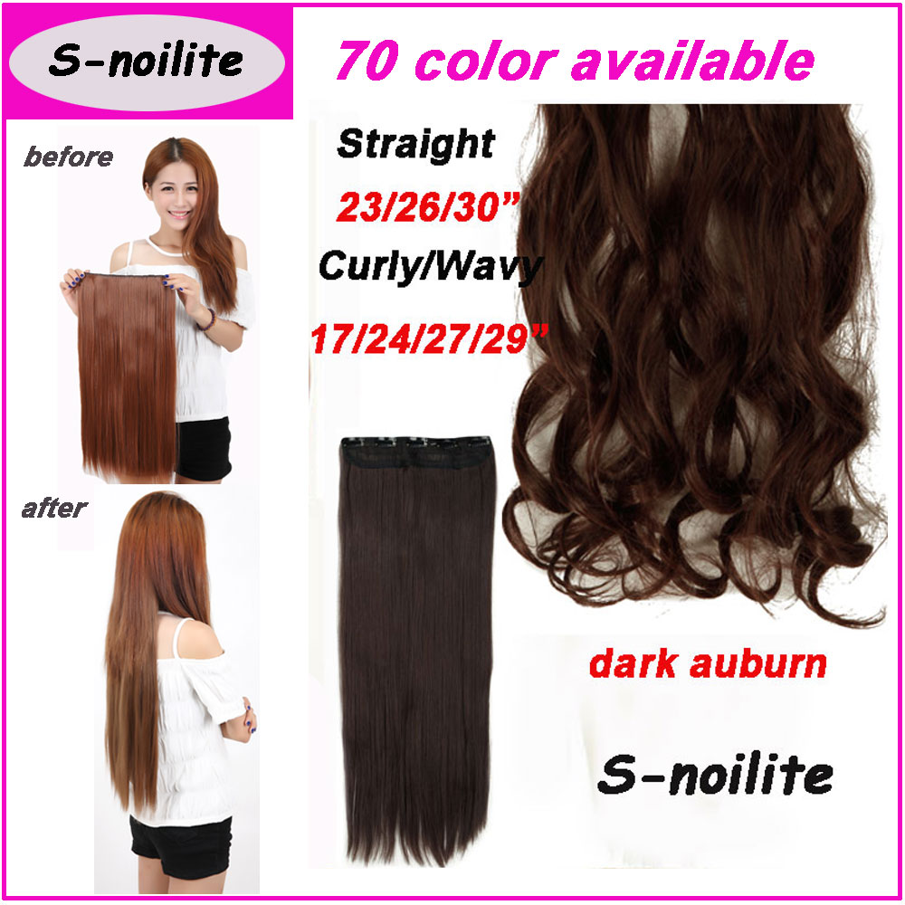 S noilite hair clearance sale any length clip in hair extensions 3 s noilite hair clearance sale any length clip in hair extensions 34 full head dark auburn straight hair extension as remy style on aliexpress alibaba pmusecretfo Gallery