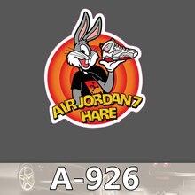 A-926 Air Hare Wasserdicht Mode Kühle DIY Aufkleber Für Laptop Gepäck Skateboard Kühlschrank Auto Graffiti Cartoon Aufkleber