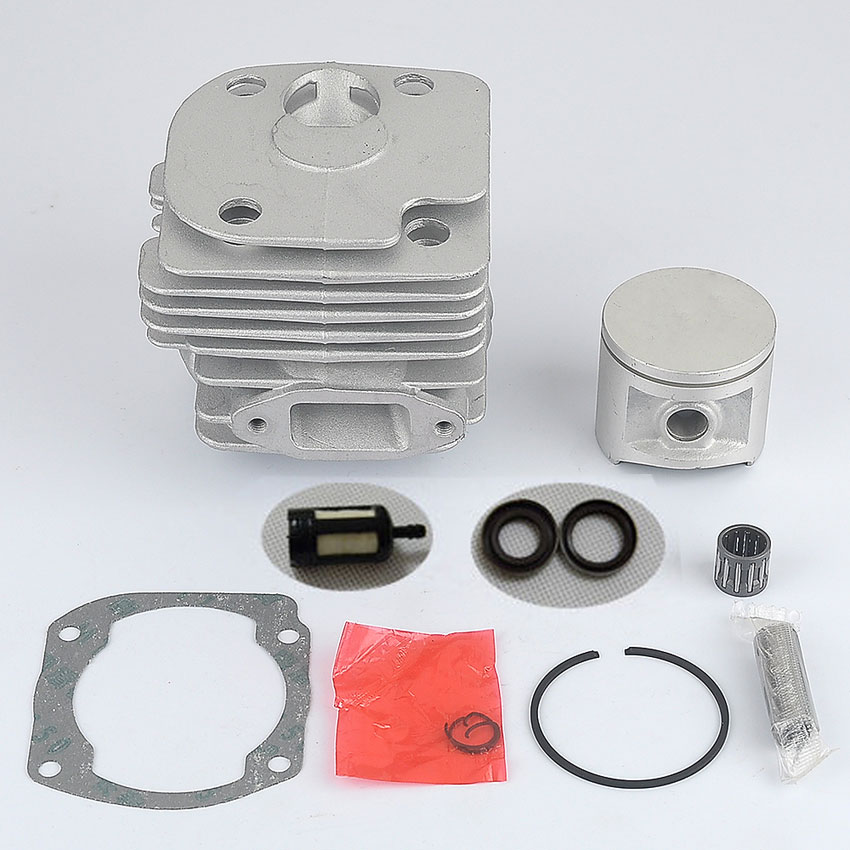ФОТО New SAVIOR Brand Chainsaw parts for Husqvarna 372XP 372 371 365 362 Cylinder Piston Kit Craftsman Big Bore 50 mm