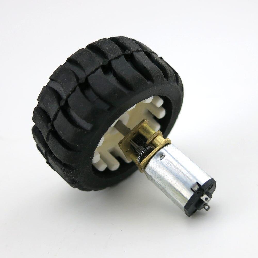 N20 deceleration motor micro robot intelligent car motor for Robot motors and wheels