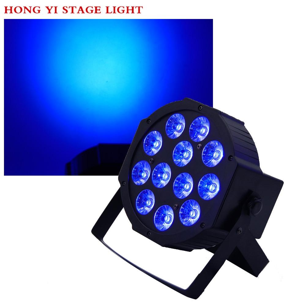 1pcs / RGBW 4in1 12X12W LED PAR Lights 4/8 CH dmx512 stage professional dj equipment chauvet dj ch 31 portable trussing