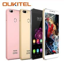 Оригинал oukitel u20 плюс moible телефоны отпечатков пальцев mtk6737t quad core 16 г rom 2 г ram 1080 P 5.5 дюймов ips fhd