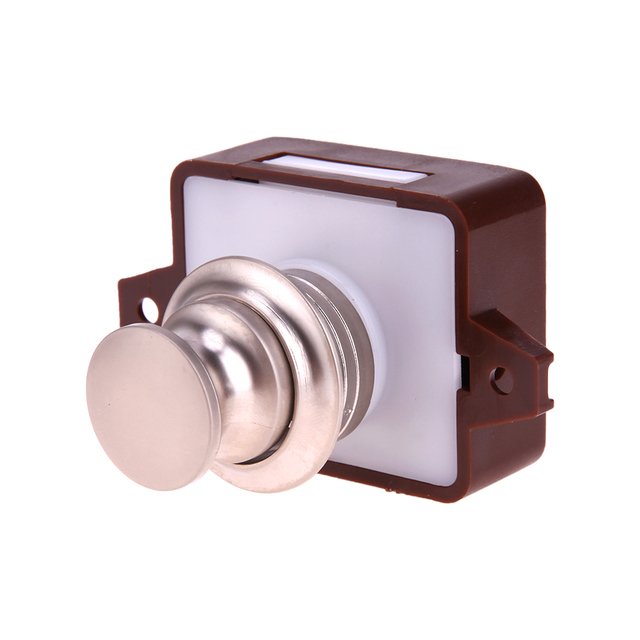 Aliexpress.com : Buy Large Push Lock Button Catch Lock Cupboard Door ...