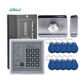 Home Electronic access control set wooden door iron gate electric lock 10/RFID ACCESS CONTROL